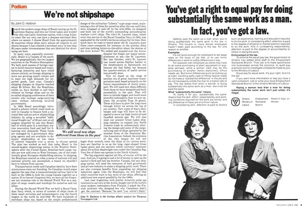 Article Preview: We're not shipshape, June 1980 | Maclean's
