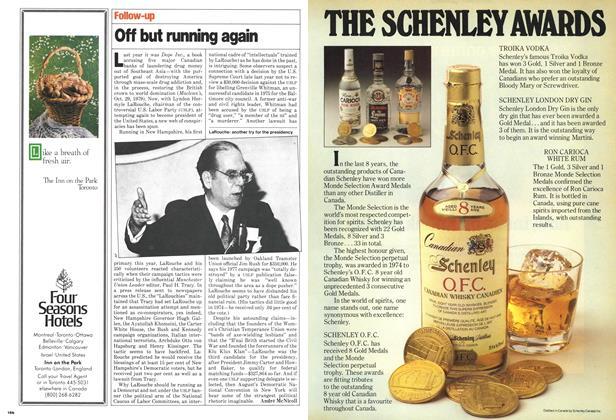 Article Preview: Off but running again, June 1980 | Maclean's