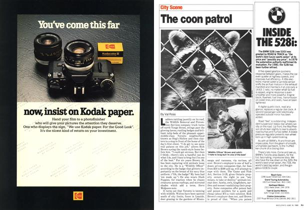 Article Preview: The coon patrol, June 1980 | Maclean's