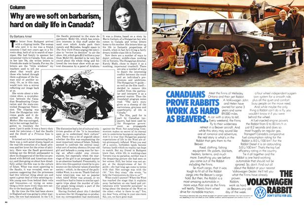Article Preview: Why are we soft on barbarism, hard on daily life in Canada?, June 1980 | Maclean's