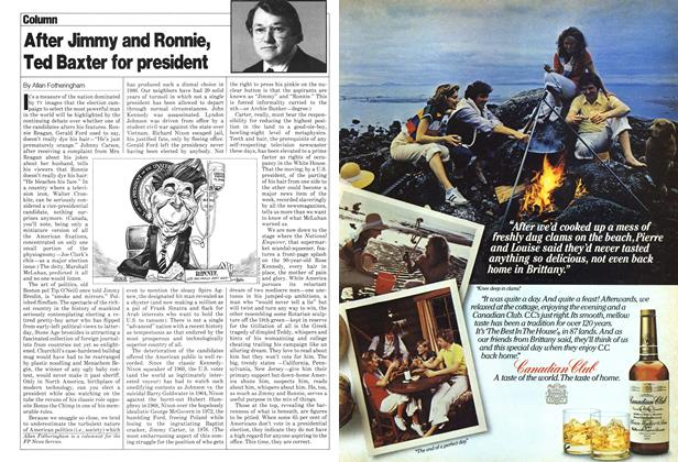 Article Preview: After Jimmy and Ronnie, Ted Baxter for president, June 1980 | Maclean's