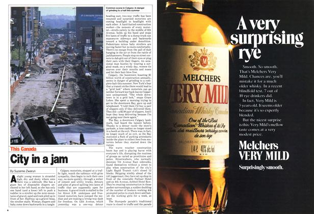 Article Preview: City in a jam, June 1980 | Maclean's