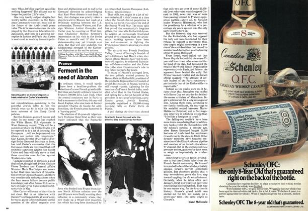 Article Preview: Ferment in the seed of Abraham, June 1980 | Maclean's