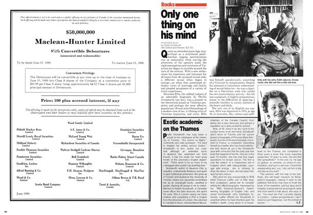 Article Preview: Only one thing on his mind, June 1980 | Maclean's