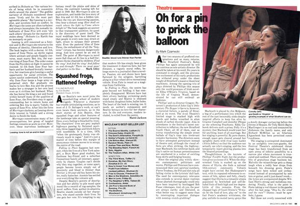 Article Preview: Oh for a pin to prick the balloon, June 1980 | Maclean's