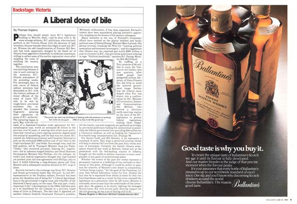 Article Preview: A Liberal dose of bile, June 1980 | Maclean's