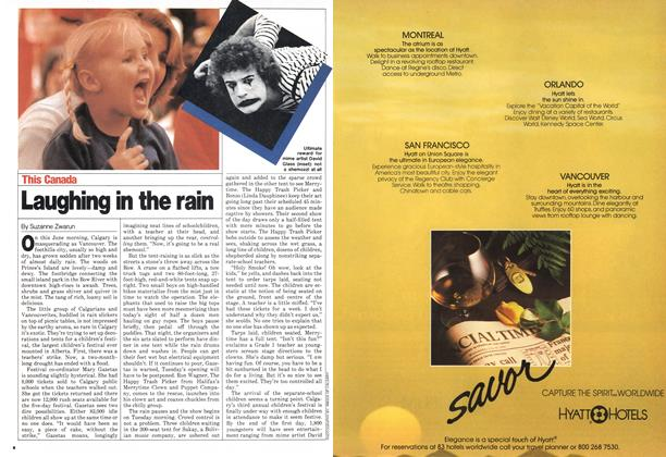 Article Preview: Laughing in the rain, June 1980 | Maclean's