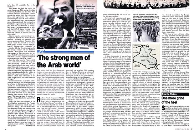 Article Preview: 'The strong men of the Arab world', June 1980 | Maclean's