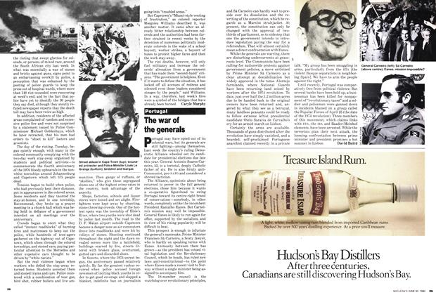 Article Preview: The war of the generals, June 1980 | Maclean's