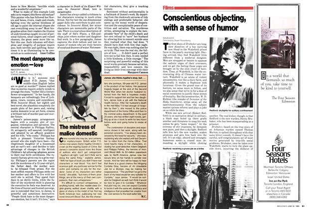 Article Preview: Conscientious objecting, with a sense of humor, June 1980 | Maclean's