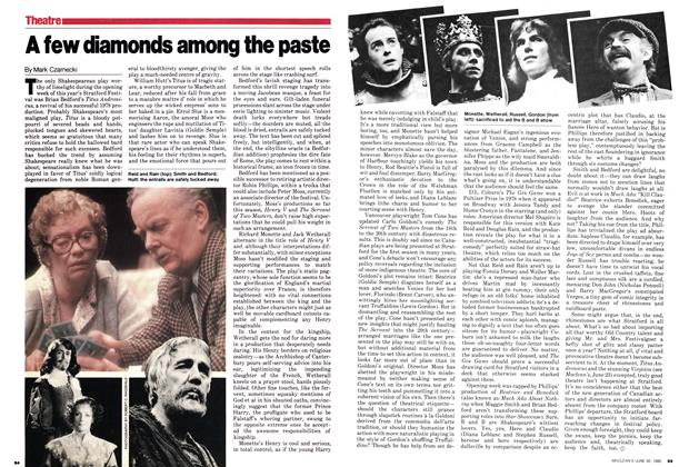 Article Preview: A few diamonds among the paste, June 1980 | Maclean's