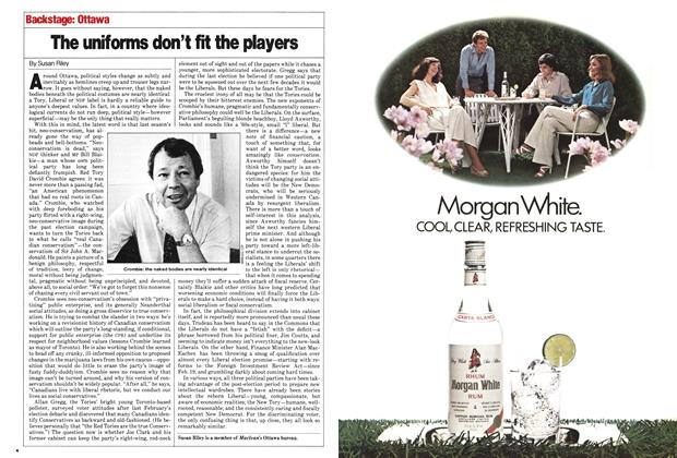 Article Preview: The uniforms don't fit the players, June 1980 | Maclean's