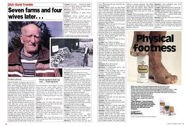 Article Preview: Seven farms and four wives later. . ., June 1980 | Maclean's