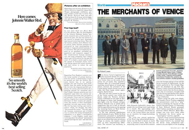 Article Preview: THE MERCHANTS OF VENICE, July 1980 | Maclean's