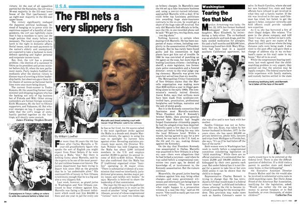 Article Preview: Tearing the ties that bind, July 1980 | Maclean's