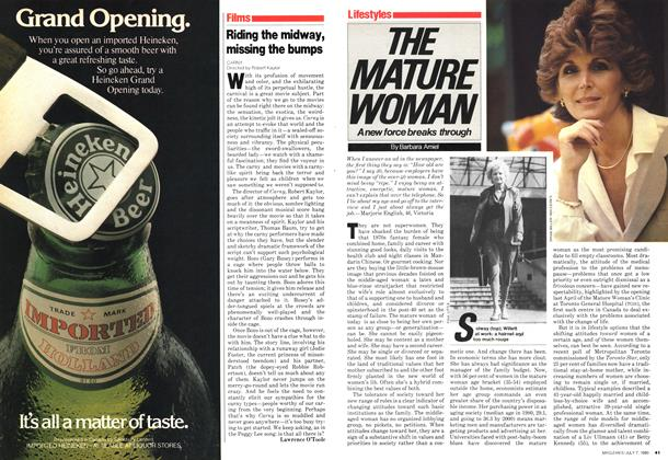 Article Preview: THE MATURE WOMAN, July 1980 | Maclean's