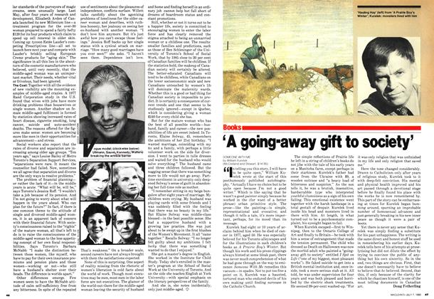 Article Preview: 'A going-away gift to society', July 1980 | Maclean's