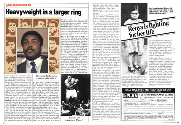 Article Preview: Heavyweight in a larger ring, July 1980 | Maclean's