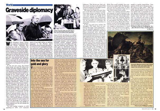 Article Preview: Into the sea for gold and glory, July 1980 | Maclean's