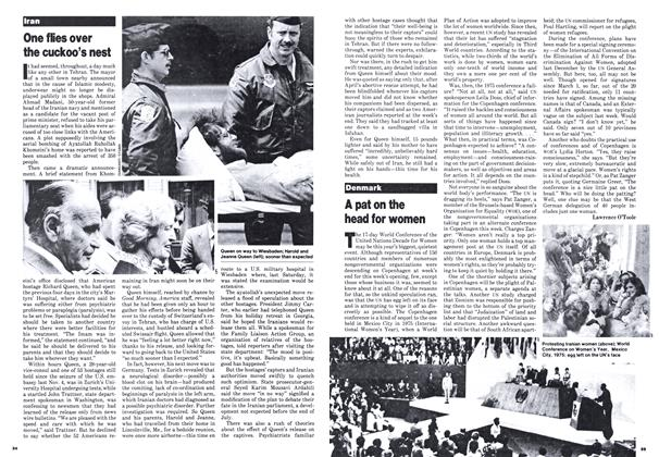 Article Preview: A pat on the head for women, July 1980 | Maclean's