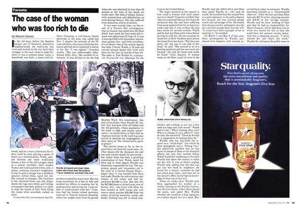 Article Preview: The case of the woman who was too rich to die, July 1980 | Maclean's