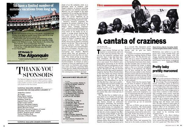 Article Preview: A cantata of craziness, July 1980 | Maclean's