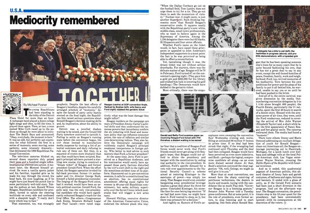 Article Preview: Mediocrity remembered, July 1980 | Maclean's