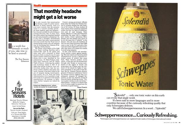 Article Preview: That monthly headache might get a lot worse, July 1980 | Maclean's