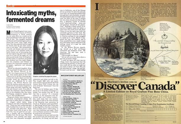 Article Preview: Intoxicating myths, fermented dreams, July 1980 | Maclean's
