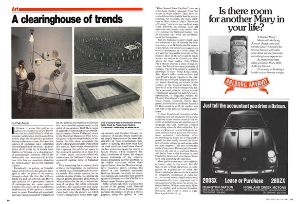 Article Preview: A clearinghouse of trends, July 1980 | Maclean's