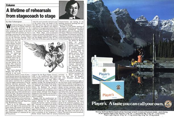 Article Preview: A lifetime of rehearsals from stagecoach to stage, July 1980   Maclean's