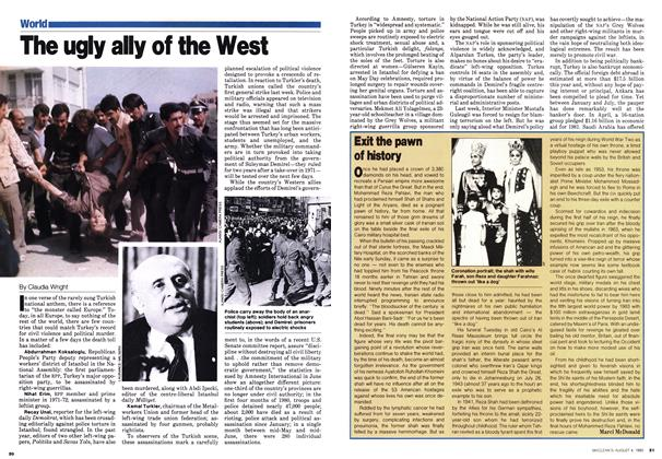 Article Preview: The ugly ally of the West, August 1980 | Maclean's