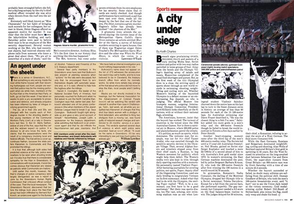 Article Preview: A city under siege, August 1980   Maclean's