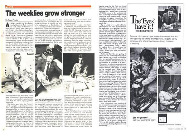 Article Preview: The weeklies grow stronger, August 1980 | Maclean's
