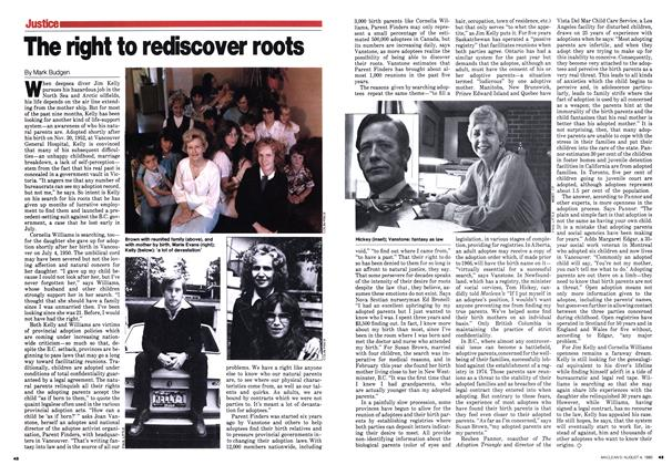 Article Preview: The right to rediscover roots, August 1980 | Maclean's