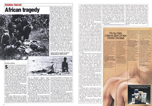 Article Preview: African tragedy, August 1980 | Maclean's
