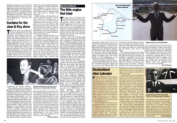 Article Preview: The little engine that tried, August 1980 | Maclean's