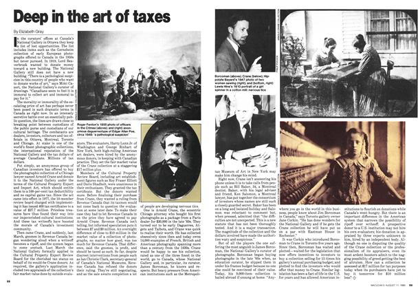 Article Preview: Deep in the art of taxes, August 1980 | Maclean's