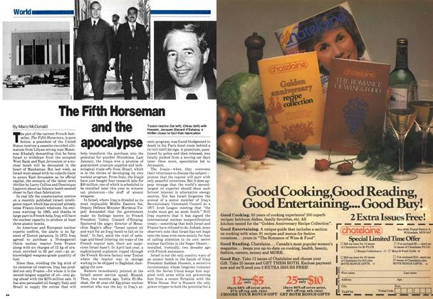 Article Preview: The Fifth Horseman and the apocalypse, August 1980 | Maclean's