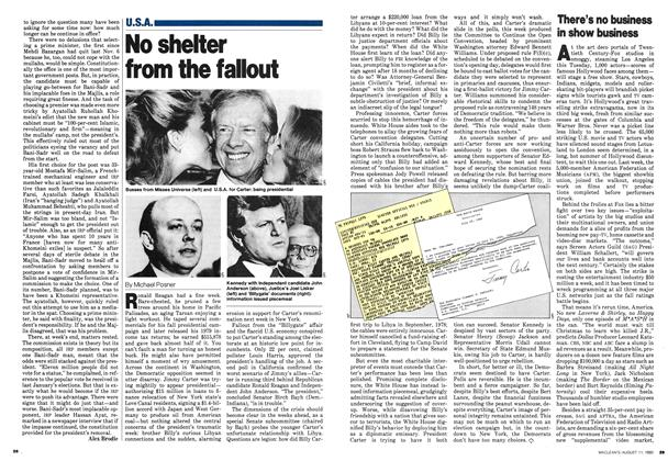 Article Preview: No shelter from the fallout, August 1980 | Maclean's