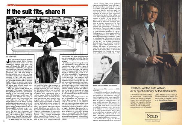 Article Preview: If the suit fits, share it, August 1980 | Maclean's