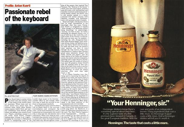Article Preview: Passionate rebel of the keyboard, August 1980 | Maclean's