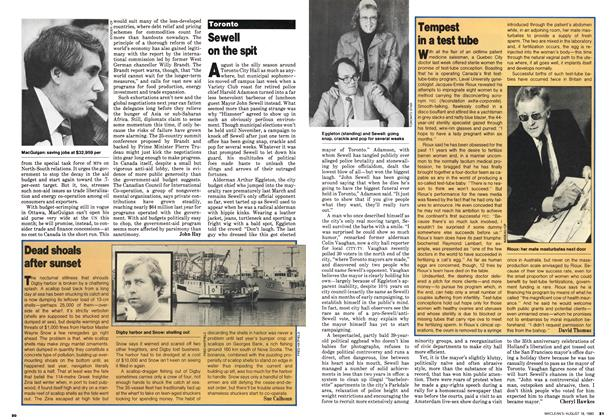 Article Preview: Tempest in a test tube, August 1980 | Maclean's