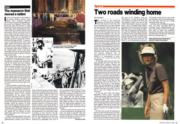 Article Preview: Two roads winding home, August 1980 | Maclean's