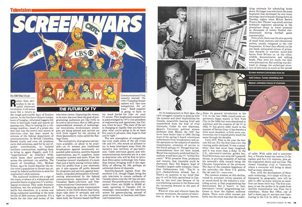 Article Preview: THE FUTURE OF TV, August 1980 | Maclean's