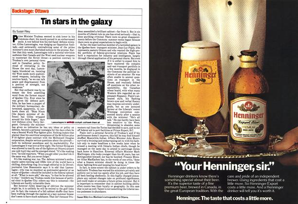 Article Preview: Tin stars in the galaxy, August 1980 | Maclean's