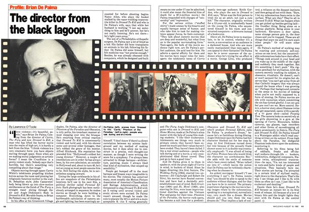 Article Preview: The director from the black lagoon, August 1980 | Maclean's