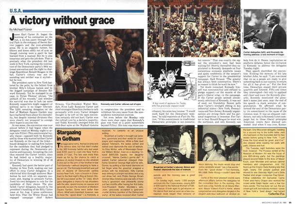 Article Preview: A victory without grace, August 1980 | Maclean's