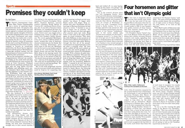 Article Preview: Promises they couldn't keep, August 1980 | Maclean's