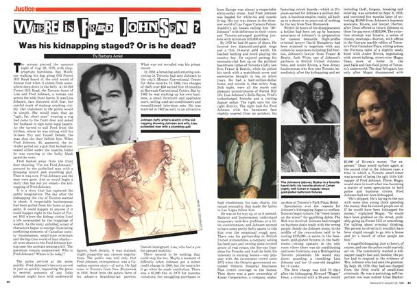 Article Preview: WHERE IS FRED JHONSEN ?, August 1980 | Maclean's